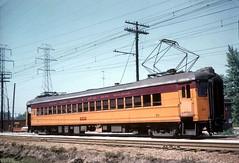 South Shore 20 Tremont 8-29-54 (jsmatlak) Tags: chicago south shore line csssb railroad railway electric interurban tram train nictd indiana tremont