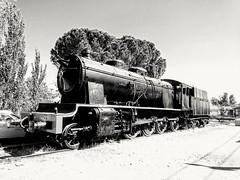 Locomotora de vapor en Alcázar de San Juan (eugenioperegringarcia) Tags: vapor locomotora