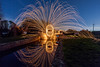 Wirewool Spinning (LKB_Photography) Tags: wirewool wirewoolspinning canon5d canon loughborough canal leicestershire england longexposures longexposure