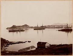 Άποψη της Κέρκυρας, περίπου 1875. (Giannis Giannakitsas) Tags: ελλαδα greece grece griechenland corfu κερκυρα 19 th century bartolomeo borri