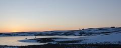 Coucher du soleil, Lac des Moines, Aubrac, Aveyron (lyli12) Tags: coucherdesoleil aubrac aveyron hiver neige croix buron lac paysage landscape midipyrénées