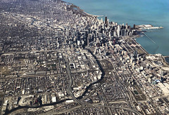 Heading to Downtown Chicago (Bill in DC) Tags: flight flights il illinois chicago 2018 ua ual unitedairlines iadord