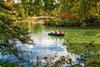 Boating in Central Park New York (Edward Lyons) Tags: centralpark boating fall leaves autumn autumnleaves park outdoors water lake rowing newyork newyorkcity