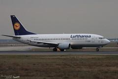 Boeing 737 -330 LUFTHANSA D-ABEC 25149 Francfort février 2016 (Thibaud.S.Photographie) Tags: boeing 737 330 lufthansa dabec 25149 francfort février 2016