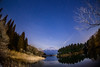 Mt.Fuji reflected in Lake Tanuki (reonides) Tags: nikond800 fisheye longexposure laketanuki 田貫湖 富士山 星景 mtfuji star