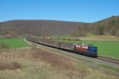 BayernBahn 139 287, Harrbach (Sander Brands) Tags: trein treni train treno tr trenuri trenuro traktion rail railfanning ex db dbc d7000 nikon henkel bayba bayern 139