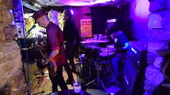 DSC_0151 (richardclarkephotos) Tags: tim bish joey luca © richard clarke photos derellas three horseshoes bradford avon wiltshire uk lone sharks guitar bass drums guitarist drummer bassist band bands live music punk