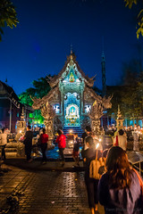 Temples in Thailand (grand Yann) Tags: architecture chiangmai temple thailand thaïlande night nuit changwatchiangmai