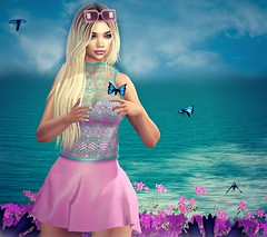 spring is in the air (Sadystika Sabretooth) Tags: avenge blackfair catwa fameshed glamaffair ilaya jian maitreya masoom posefair ramasalon springflair
