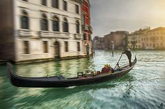 Gondola (Alessandro Giorgi Art Photography) Tags: gondolas venice venezia italy italia canal canale water acqua sun sole gondolier