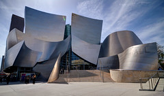 Walt Disney Concert Hall - Los Angeles (Craig Stevens <castevens12>) Tags: nikond7000 tokina1116mmf28 waltdisneyconcerthall la losangeles downtownla frankgehry architecture clouds bluesky sunny highdynamicrange hdr california socal southerncalifornia city cities landscape