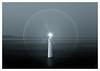 Halo (picturedevon.co.uk) Tags: shaldon teignmouth teignbridge devon uk mono seascapefineart longexposure le minimal sea water sky night lighthouse coast blue black white outdoors canon wwwpicturedevoncouk