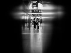 ... (Ewedan Photography) Tags: bw blackandwhite blackwhite fuji fujifilm xt10 human centralstation hauptbahnhof hamburg people einfarbig reisen