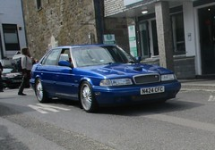 1995 Rover 820 Vitesse Sport (occama) Tags: n424cfc rover 800 820 vitesse sport 1995 old car cornwall uk rare blue
