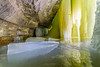Light Chamber (Aaron Springer) Tags: michigan upperpeninsulaofmichigan hiawathanationalforest rockrivercanyonicecaves ebenicecaves ice rock backlit spring april outdoor nature landscape
