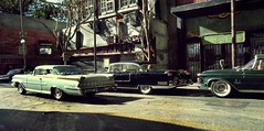Busy Corner 1 (gpholtz) Tags: diorama miniatures 118 diecast 1959 oldsmobile 98
