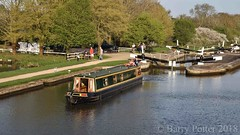 Hatton Locks, Grand Union Canal (Barry Potter (EdenMedia)) Tags: barrypotter edenmedia nikon d7200 nikonflickrtrophy grandunioncanal barge lock