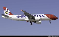 Edelweiss Air Airbus A320-214 HB-IHX @ Lanzarote/Arrecife Airport (GCRR/ACE) (Joshua_Risker) Tags: lanzarote arrecife gcrr ace canary islands islas canarias airport plane planes planespotting aviation avgeek edelweiss air airbus a320 a320214 hbihx