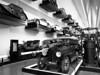 Wall of Cars (ho_hokus) Tags: 2018 escocia fujix20 fujifilmx20 glasgow riversidemuseum schottland scotland scozia transportmuseum wallofcars cars écosse monochrome blackandwhite museum vintagecars