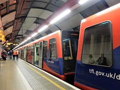 Docklands Light Railway, London (deltrems) Tags: dlr docklands light railway tram metro emu public london transport train rail