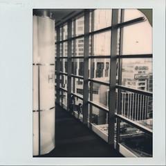 東京(Tokyo)Monochrome (Akio Nakai 中飯明央) Tags: polaroid polaroidweek monochrome spectra tokyo japan polaroidoriginals architecture
