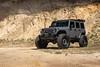 Black Rhino Arsenal on Jeep JK Wrangler - 1 (tswalloywheels1) Tags: textured matte black jeep jk jku wrangler lifted rhino arsenal sand military offroad off road truck suv aftermarket wheel wheels rim rims alloy alloys