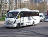 CT Plus . Hackney , London . YN61EPC . Hyde Park Corner , London . Wednesday 18th-April-2018 . (AndrewHA's) Tags: bus coach hydeparkcorner london ct plus hackney community transports mercedes benz o816d plaxton cheetah yn61epc white