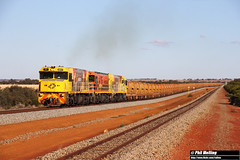 27 March 2018 P2517 P2503 P2505 3725 loaded ore Bell (RailWA) Tags: railwa philmelling p2517 p2503 p2505 3725 loaded ore bell aurizon geraldton midwest
