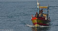 Going Home (MWBee) Tags: srilanka indianocean water boat fishingboat fishermen mwbee nikon d750