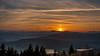 Incendie au dessus des lacs du Plateau Matheysin (Isère) - France (pascal548) Tags: lac nuit vercors ciel isère france