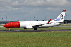EI-FVW  B737-8JP(WL) Norwegian Air International (n707pm) Tags: eifvw b737 boeing 737 737800 737wl airport airplane airline aircraft dub collinstown ireland eidw 20042018 ibk norwegianairinternational cn42282 dublinairport richardmollernielsen