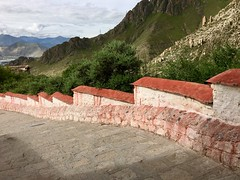 Sera Monastery, Tibet (cattan2011) Tags: tibet traveltuesday travelphotography travelbloggers travel stairs landscapephotography landscape 西藏 拉萨 lhasa mountainside mountainscape mountains monastery tibetan seramonastery