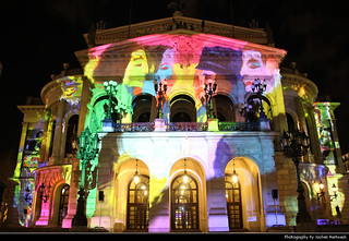 Alte Oper, Luminale, Frankfurt, Germany