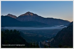 Flowing clouds and light ! (Panache-dreamer) Tags: clouds sunrise mountain uttarakhand india