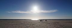 Sun is setting (Steenjep) Tags: houvig vesterhav northsea beach strand sun sol sky cloud himmel wave bølge solnedgang sunset light lys
