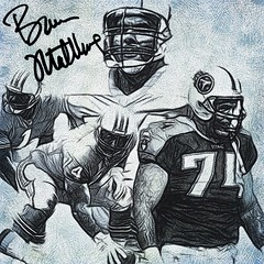 54 - Bruce Matthews (Bob Smerecki) Tags: smackman snapnpiks robert bob smerecki sports art digital artwork paintings illustrations graphics oils pastels pencil sketchings drawings virtual painter 6 watercolors smart photo editor colorization akvis sketch drawing concept designs gmx photopainter 28 draw hollywood walk fame high contrast images movie stars signatures autographs portraits people celebrities vintage today metamorphasis 002 abstract melting canvas baseball cards picture collage jixipix fauvism infrared photography colors negative color palette seeds university michigan football ncaa mosaic
