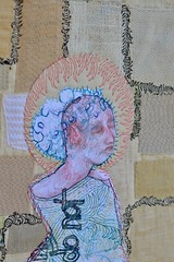 see the things that most do not (Danny W. Mansmith) Tags: availableart forsale life makingthingsforaliving artist handmade oneofakind wwwdannymansmithetsycom burienwashington sewing magic hope dannymansmith details drawingwiththesewingmachine fiberart thread drawing coloredpencil