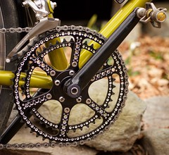 Rest In Peace, Jon Williams (Chapman Cycles) Tags: bicycle crank chain pedal chainring