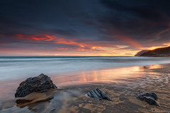 sunset in Calblanque (Paco Conesa) Tags: calblanque murcia sunset spain rocks beach park landscape canon paco conesa