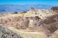 Zabriskie Point, Death Valley (Explore) (kkorsan) Tags: california deathvalley deathvalleynaturalpark rockformations rocks furnacecreek badlands zabriskiepoint unitedstates desert mountain landscape unitedstatesnationalparks travelphotography