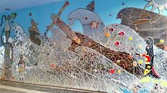528 Paris en Février 2018 - rue Piat, rue du Père Julien Dhuit (paspog) Tags: paris france tags graffitis fresque fresques mural murals février februar february 2018 ruepiat ruedupèrejuliendhuit