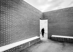Alvaro Siza Doorway [in explore April 8-2018] (USpecks_Photography) Tags: door doorway wind bricks brickwall vitra vitracampus weilamrhein architecture minimalism siza alvarosiza