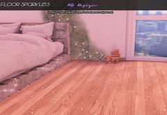 :: MS Design :: Floor Sparkles (Maddison Skute) Tags: secondlife sl secondlifephoto decor photo photograph photographer bedroom floorglitter floorsparkle sparkle glitter kawaii cute msdesign child childish floordust floor dust
