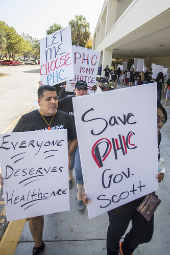 Fort Lauderdale Medicaid Cuts Protest - April 10th, 2018