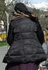Hijab Girl (Warm Clothes Fetish) Tags: girl fur coat boots warm hot hijab niqab hat