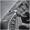 Fotografía Estenopeica (Pinhole Photography) (Black and White Fine Art) Tags: fotografiaestenopeica pinholephotography camaraestenopeica pinholecamera pinhole estenopo estenopeica lenslesscamera camarasinlente sanjuan oldsanjuan viejosanjuan puertorico bn bw motora motorcycle vespa