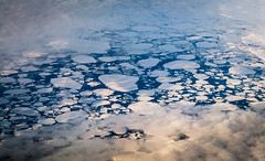 See through (Aresio) Tags: whitesea russia ice clouds aerialphotography