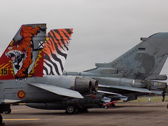 Spannish Air Force F-18 Hornet & German Air Force Tornado (Kylie Stevens) Tags: riat15thjuly2017 avgeeks airshow airshows avgeek royalinternationalairtattoo riat riat17 spannish spannishairforce airforce spain saf f18 f18hornet f18hortnet hornet jets jet jetporn jetphotography jetnoise gaf german germanairforce tornado tonka