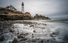Portland Head Lighthouse, Maine (jtr27) Tags: dscf8693xl3 jtr27 fuji fujifilm xt20 xtrans samyang rokinon 12mm f2 f20 ultrawide wideangle portland head light lighthouse manualfocus longexposure
