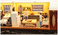 Lego Flying Scotsman (BigCam2013) Tags: lego flyingscotsman brightbricks nickbarrett model pullmancarriages legomaster legobrick legomania legoverse legoart legoprofessional legophotography 34studswide